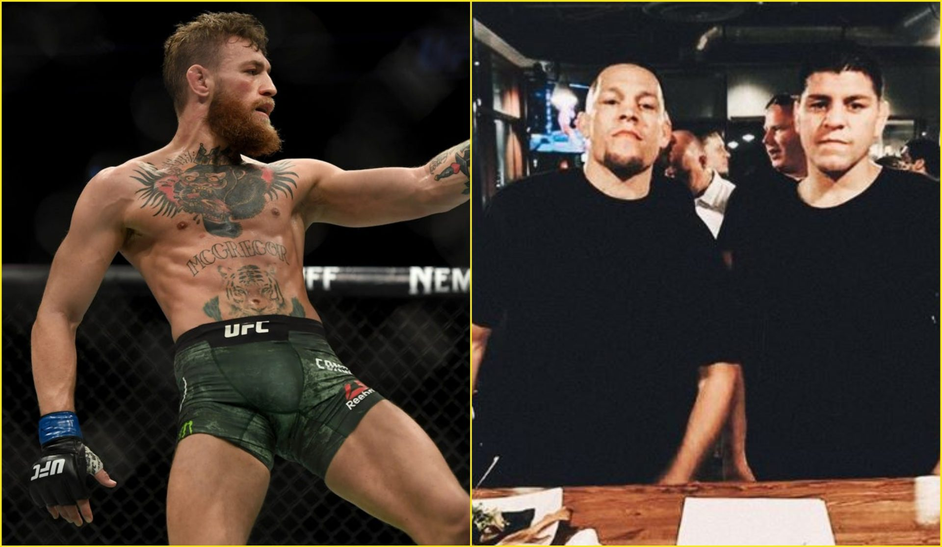 Should Conor McGregor Fight Nick Diaz or Nate Diaz Or Someone Else in the UFC? - diaz