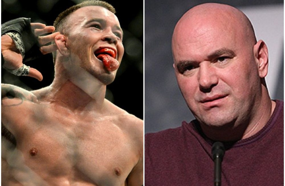 """Colby Covington praises Dana White for """"not bowing to the woke mob"""" - Colby Covington"""