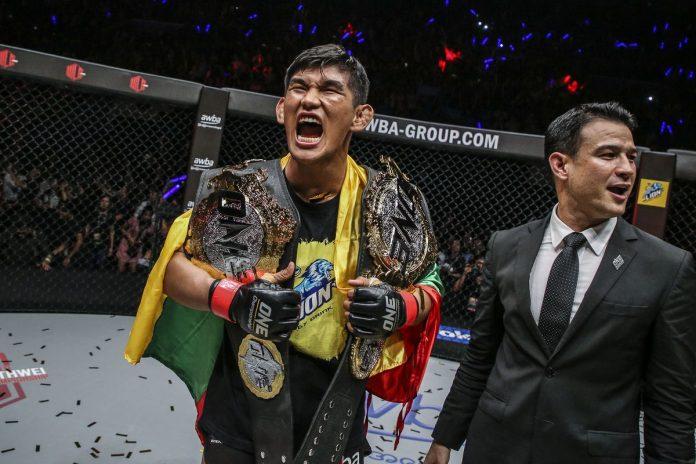 ONE Championship Aung La n sang