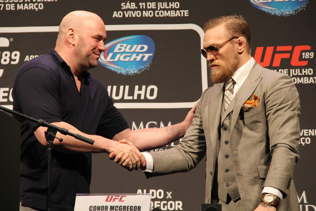 Dana White talks about alleged sexual assault allegations against Conor McGregor - Conor McGregor