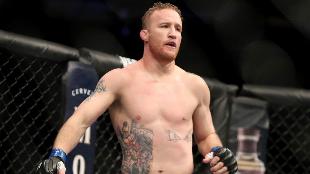 Justin Gaethje vs Conor McGregor