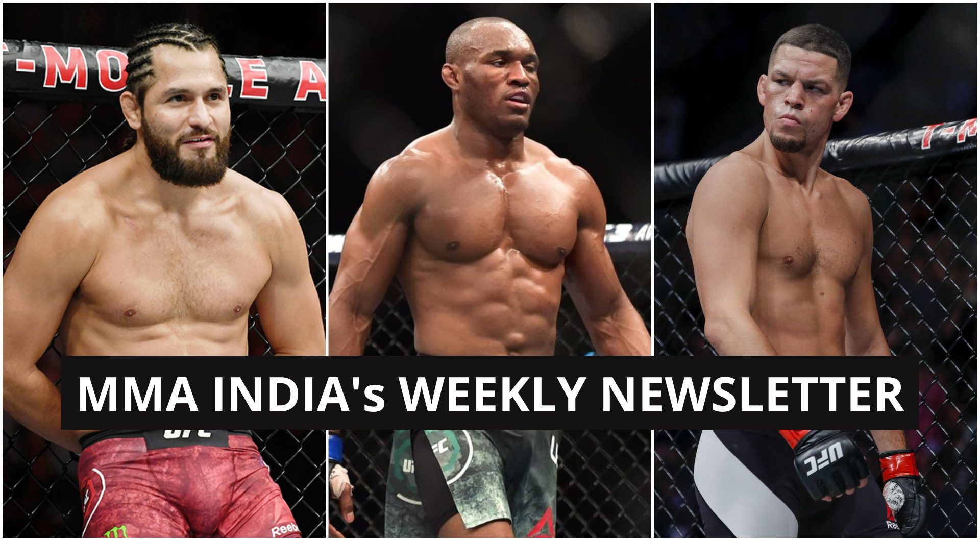 MMA India's Weekly Roundup (1-7 September): Diaz vs Masvidal 2 in works, Burns vs Usman set for UFC 256 and more - Masvidal