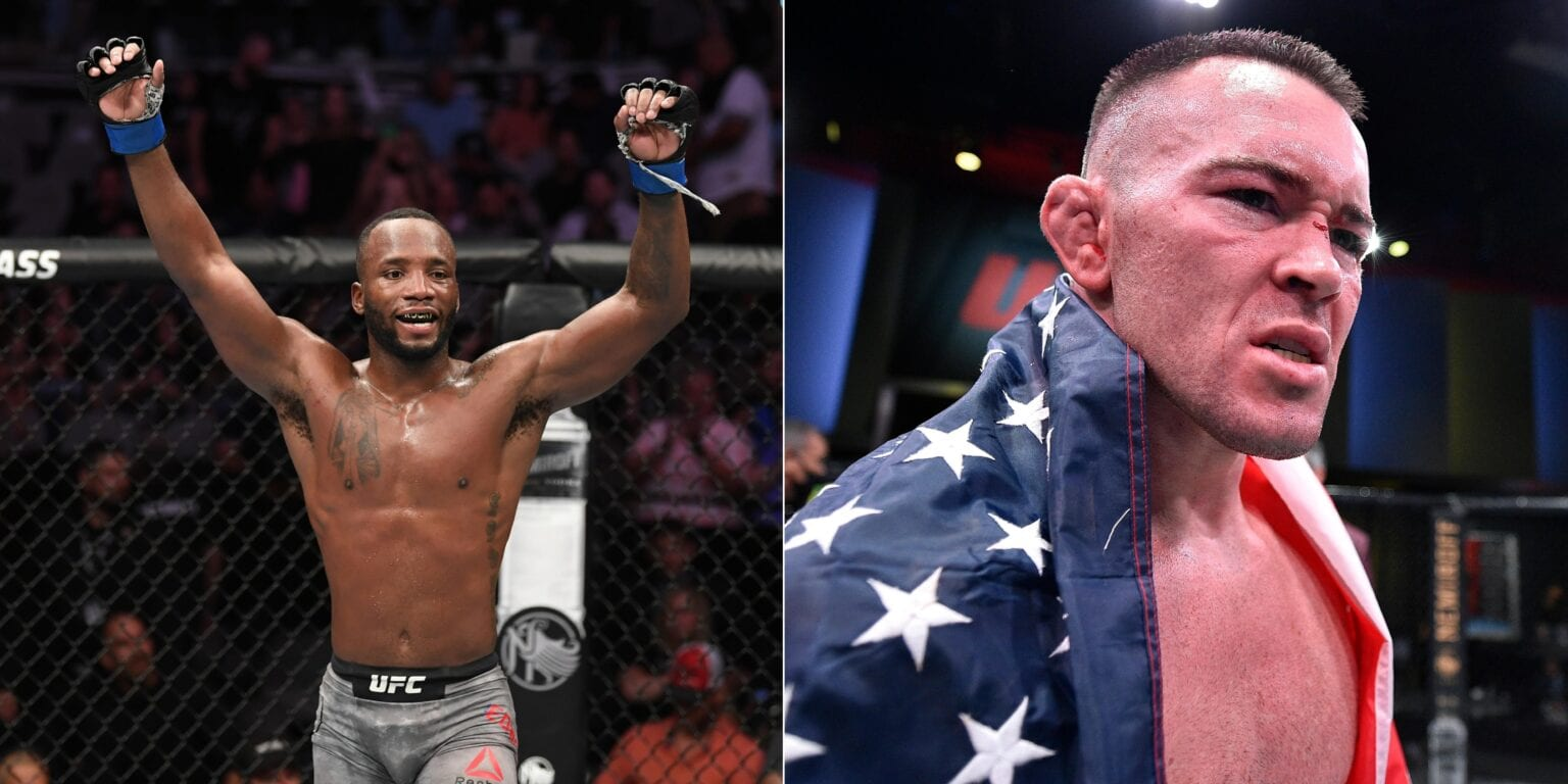 Leon Edwards takes a dig at Covington by calling him racist and expressed his desire to fight him in December - Edwards