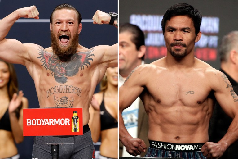 Conor McGregor says he is going to fight Manny Pacquiao in Middle East - McGregor