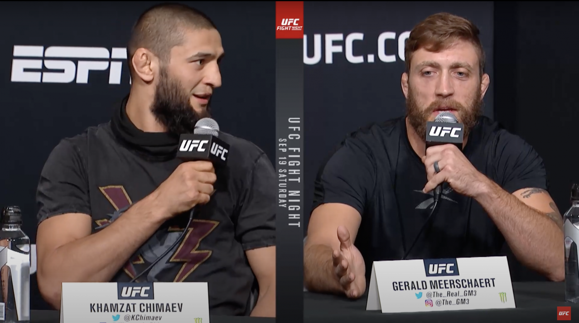 Khamzat Chimaev says he will kill Gerald Meerschaert at UFC Vegas 11 - Chimaev