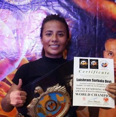 Friday Fighter of the Week : Surbala Laishram - Laishram