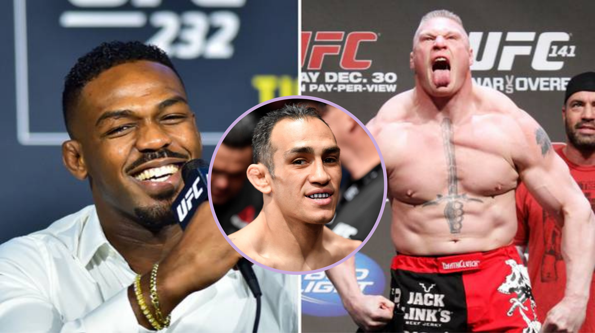 Tony Ferguson willing to help Lesnar prepare for Jones fight - Jones