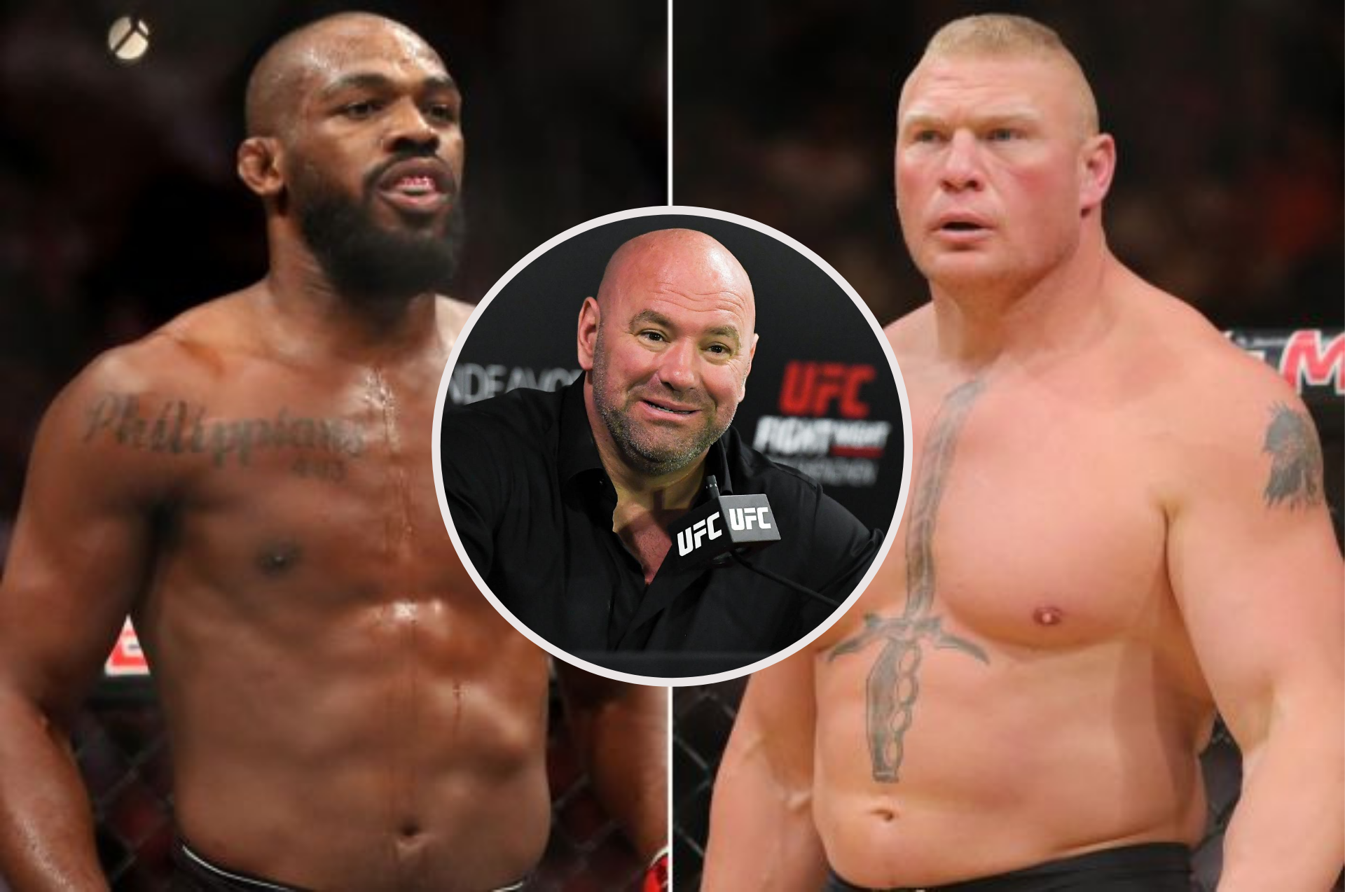 Dana White willing to book Jones vs Lesnar if both parties are interested - Jones