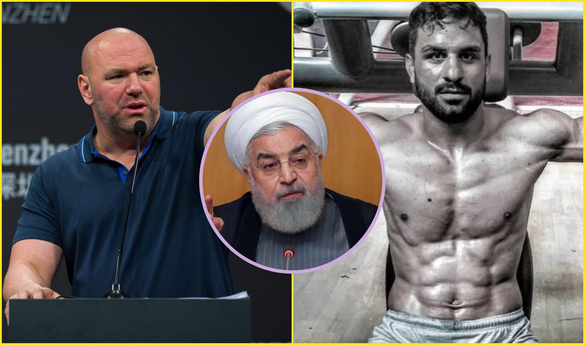 Dana White requests the government of Iran to not execute famous wrestler Afkarai - Dana White