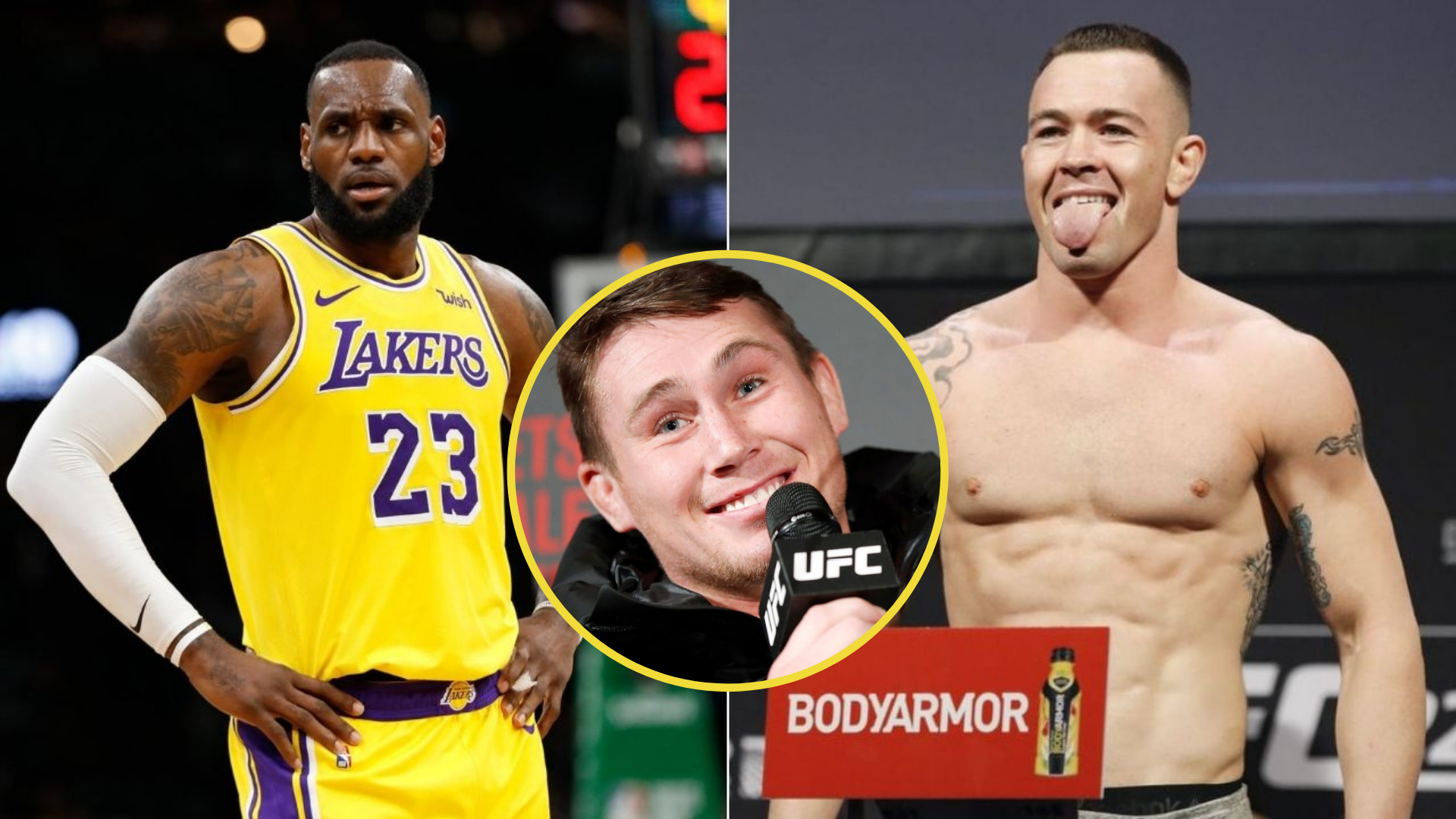 Darren Till supports Covington's claim of LeBron James not lasting even 10 seconds with him in a fight - Covington