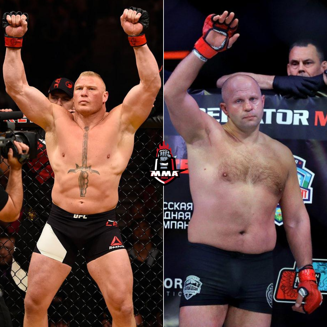 Brock Lesnar and Fedor