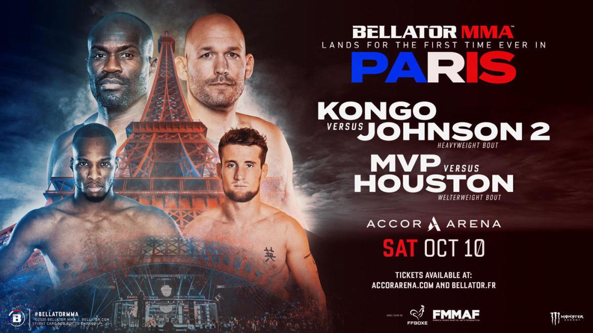 Bellator Paris october 10