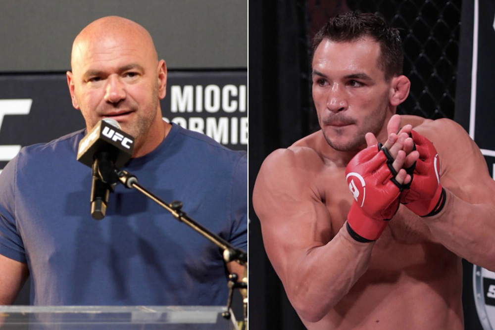 Dana White recalls his first encounter with Michael Chandler - Chandler