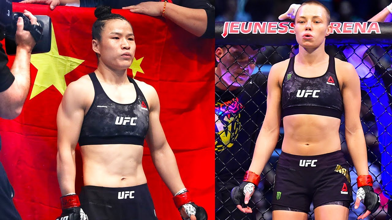 Weili Zhang vs. Rose Namajunas in works for UFC strawweight title - MMA  INDIA