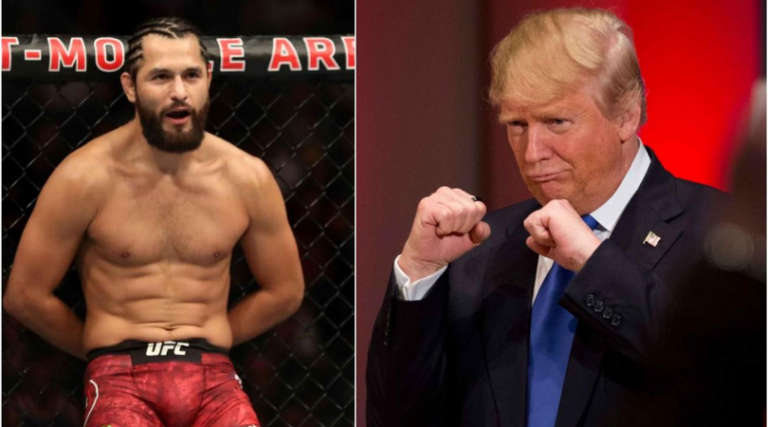 Donald Trump is all praise for Jorge Masvidal at his ...