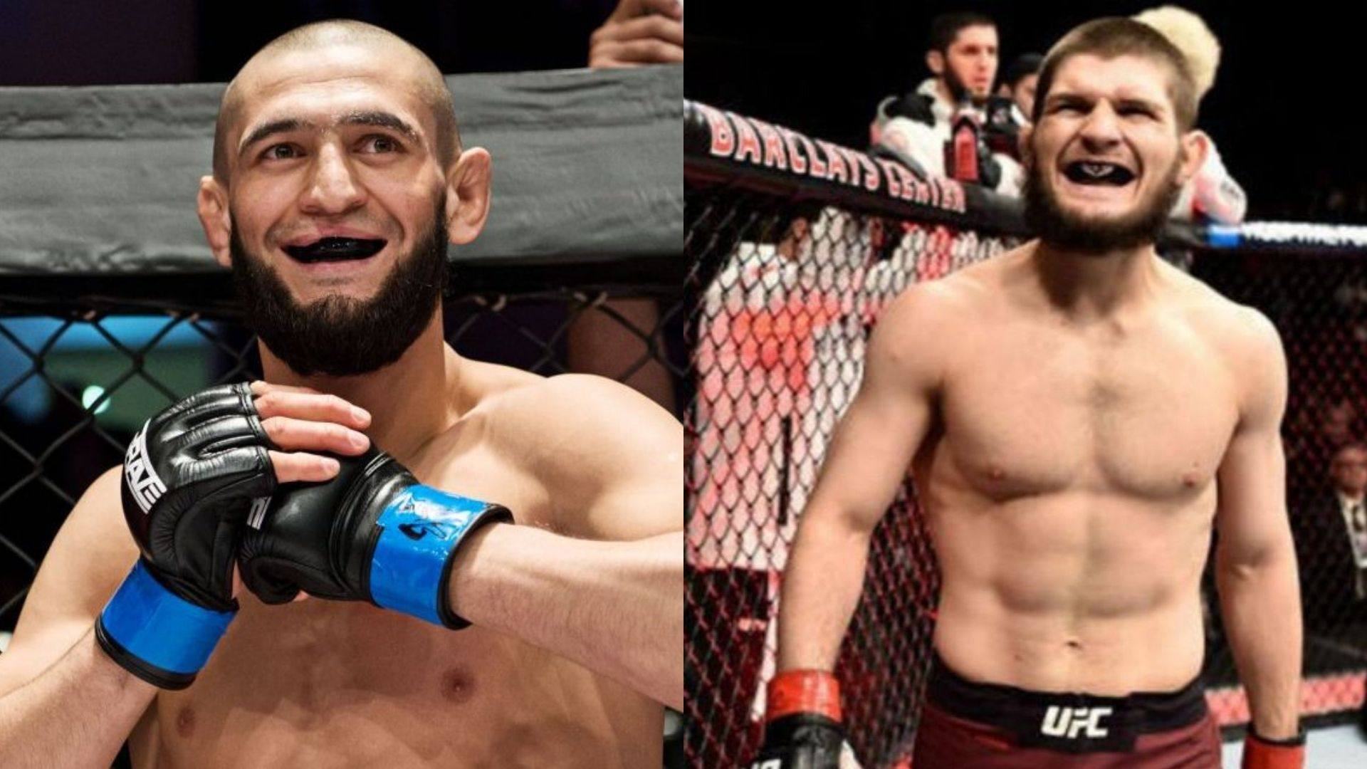 "Khabib Nurmagomedov says Khamzat Chimaev is the ""real deal"", wants him to fight top 10 guy - Chimaev"
