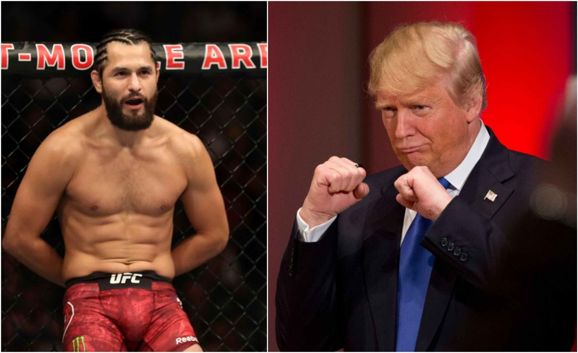 Masvidal seen urging supporters to elect Donald Trump once again - Masvidal
