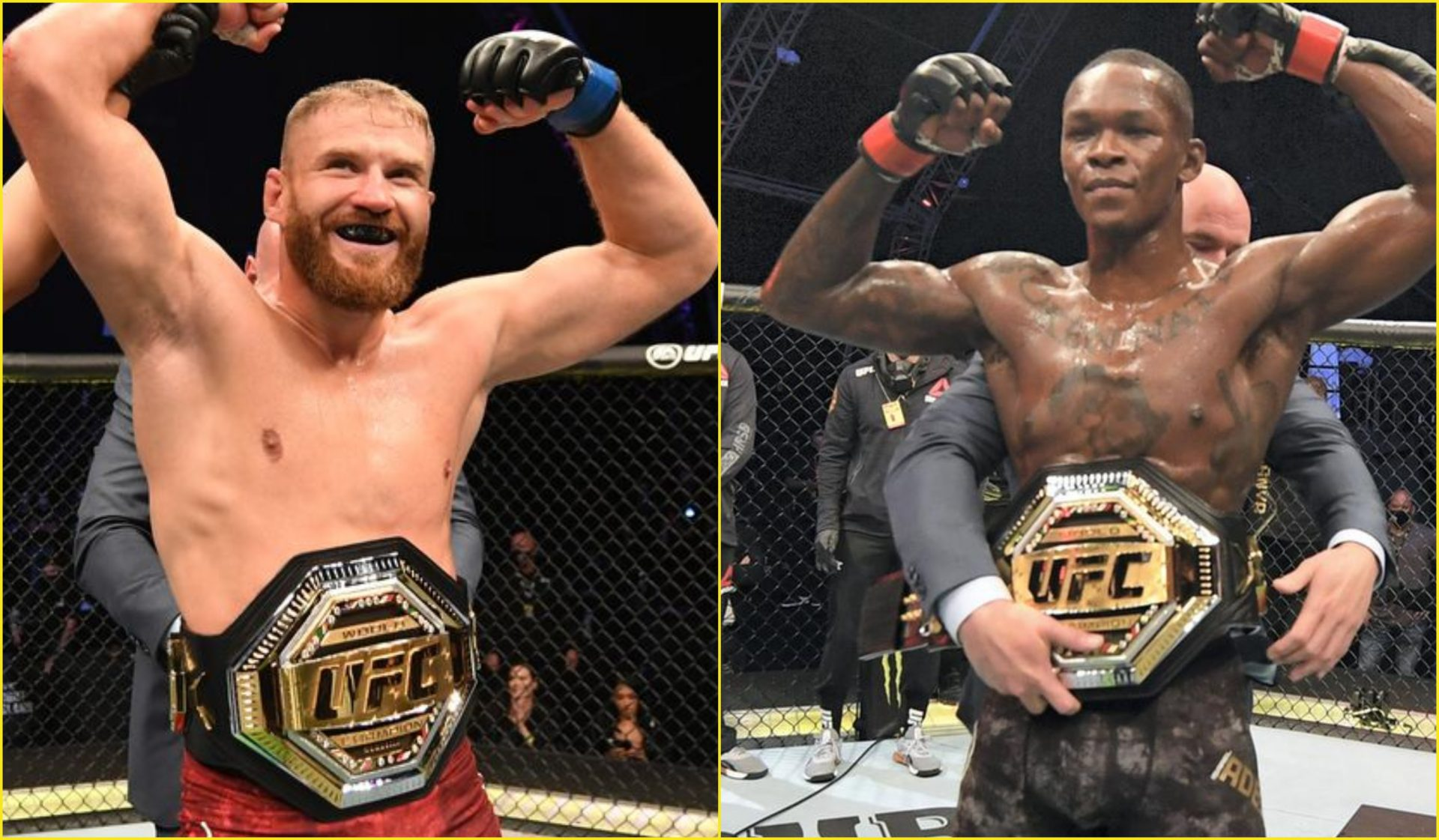 Jan Blachowicz is ready for a super fight against middleweight champion Israel Adesanya - Blachowicz