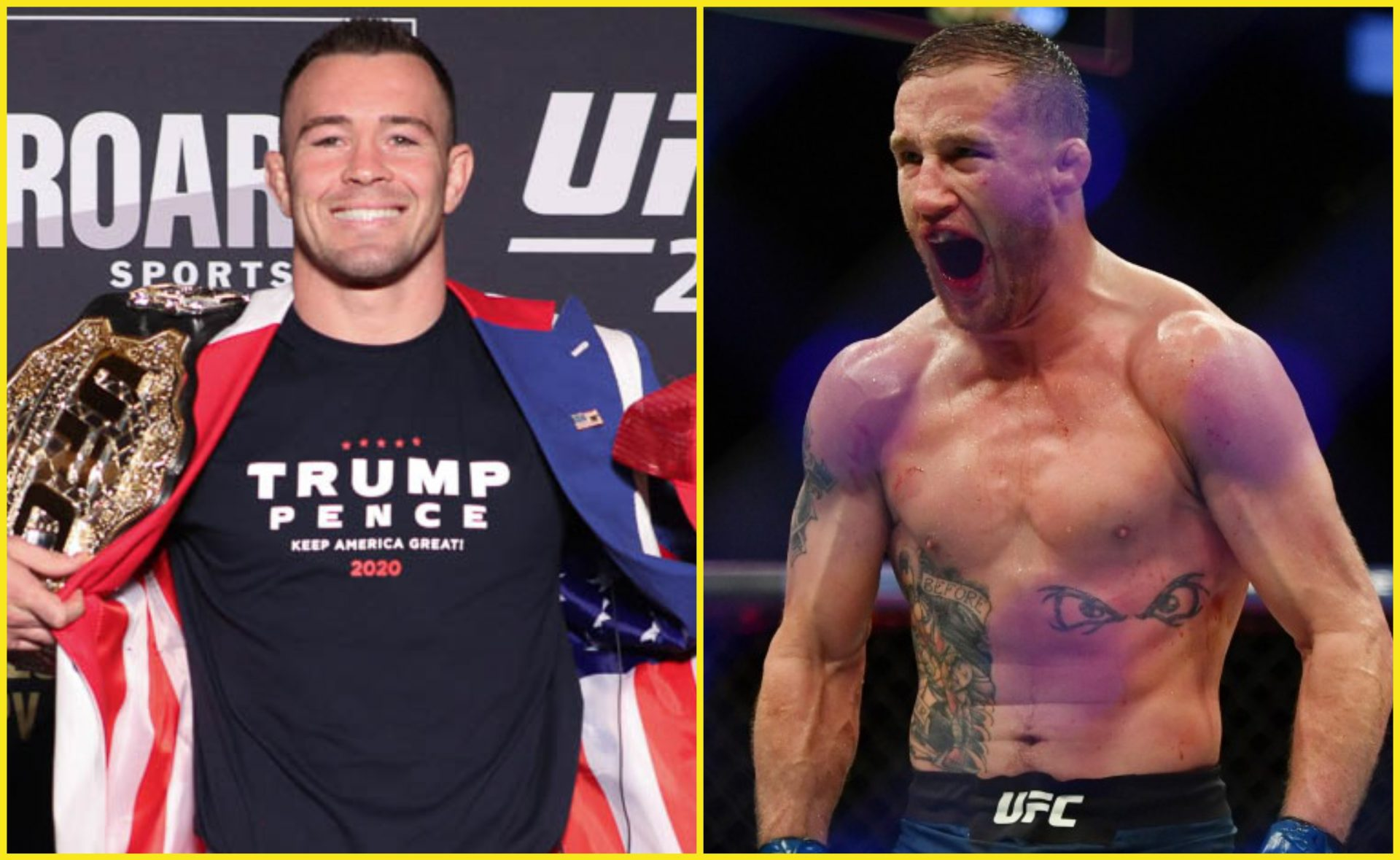 Justin Gaethje blasts 'Coward' Colby Covington: 'He's a fake person' - Justin Gaethje