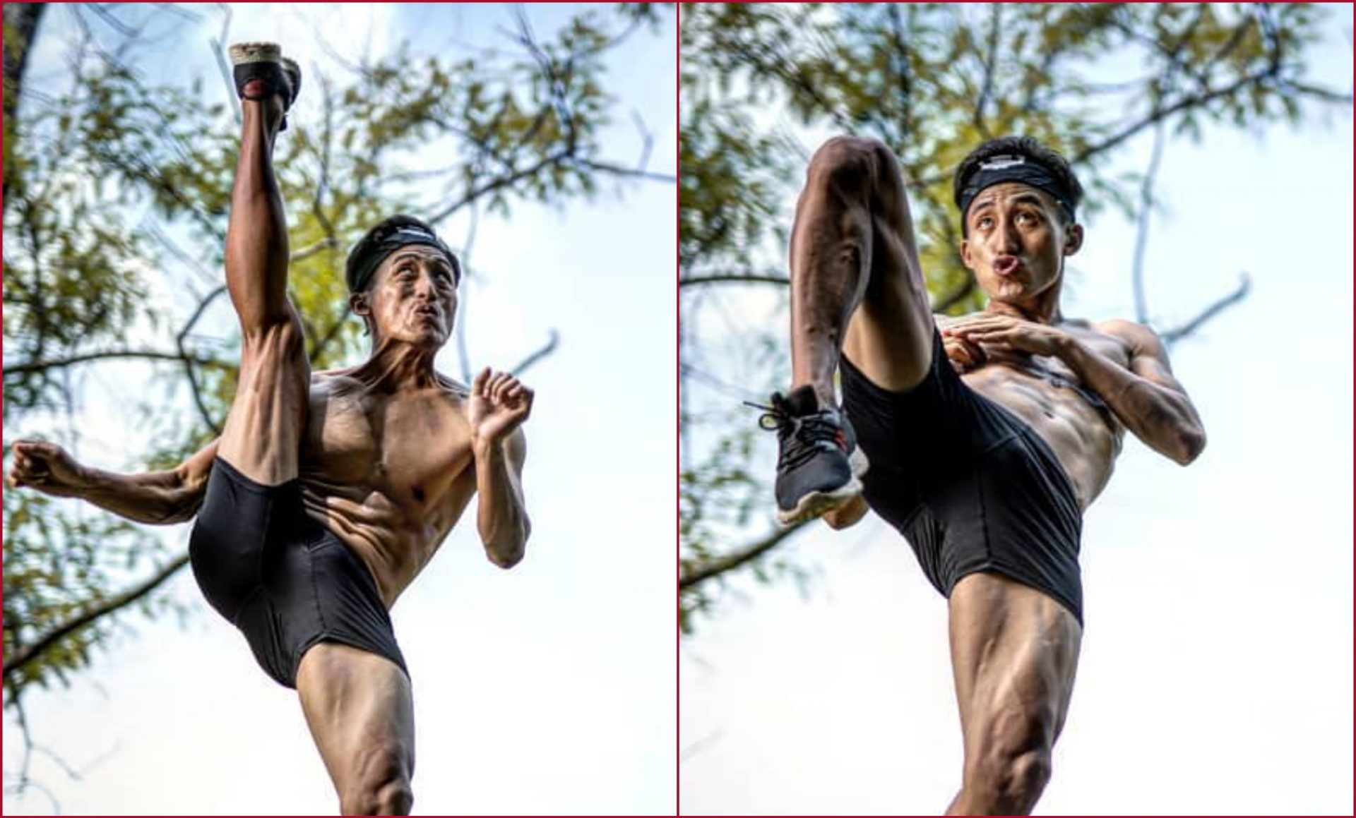 Meet Neitso Angami, who wants to honor his father's memory through MMA - Neitso Angami