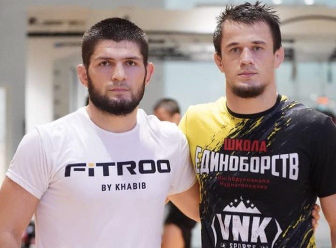 Usman and Khabib Nurmagomedov