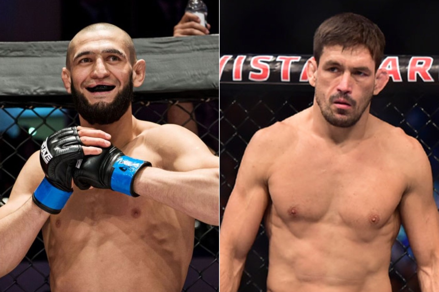 Khamzat Chimaev states that he can choke out Demian Maia - Chimaev