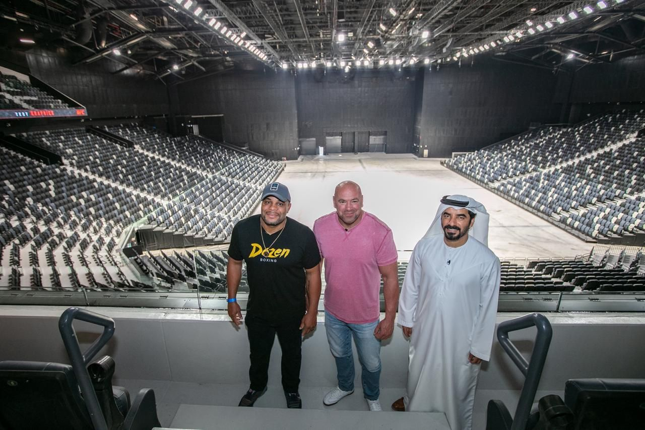 Etihad Arena to be the new home of the UFC in Abu Dhabi - Abu Dhabi