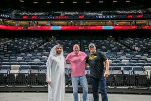 UFC DANA WHITE,UAE,ETIHAD