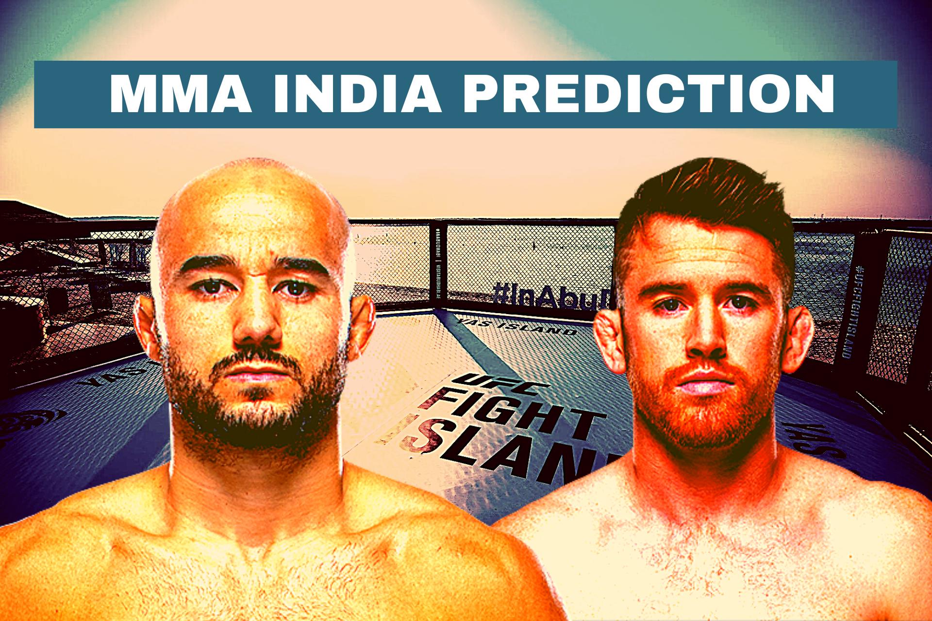 UFC Fight Island 5: Moraes vs Sandhagen Odds, Prediction and Verdict - UFC