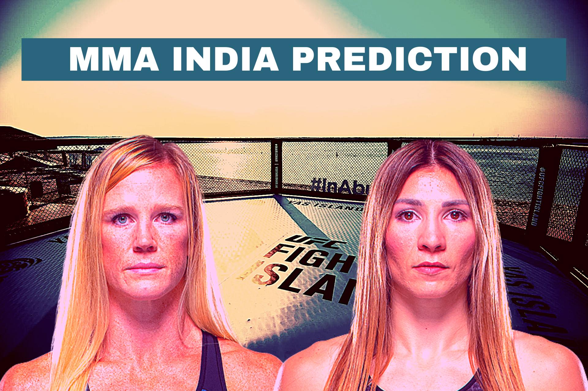 UFC Fight Island 4: Holm vs Aldana Odds, Predictions and Verdict - Holm