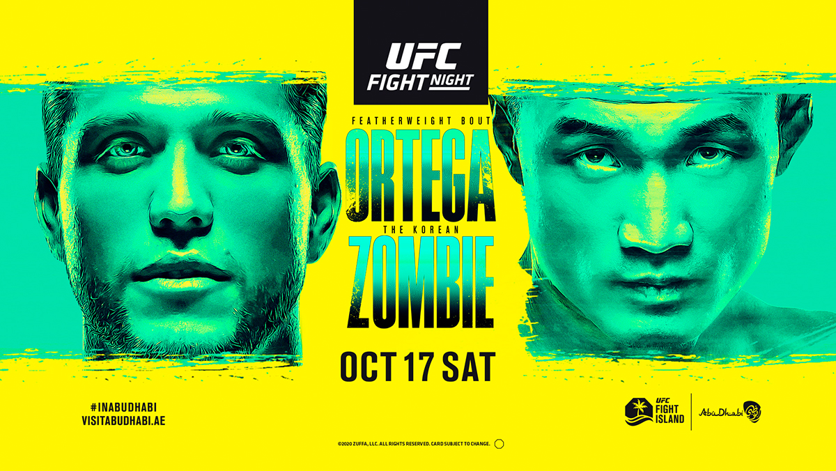 UFC Fight Night: Ortega vs. The Korean Zombie - Ortega