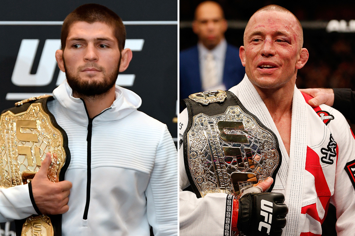 Firas Zahabi says GSP and Khabib deserve the retirement and should not be forced to fight - Khabib