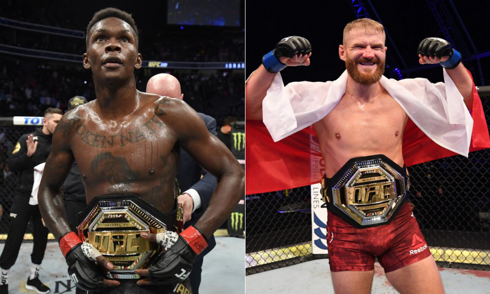 UFC light heavyweight champ Jan Blachowicz wants to fight Israel Adesanya in March - MMA INDIA