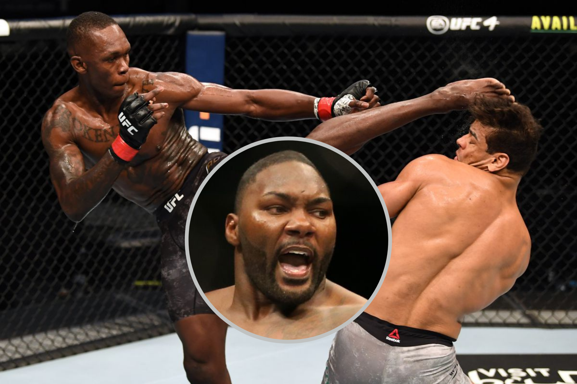 Anthony Johnson tells Paulo Costa to 'grow some balls' and accept loss to Adesanya - Paulo Costa