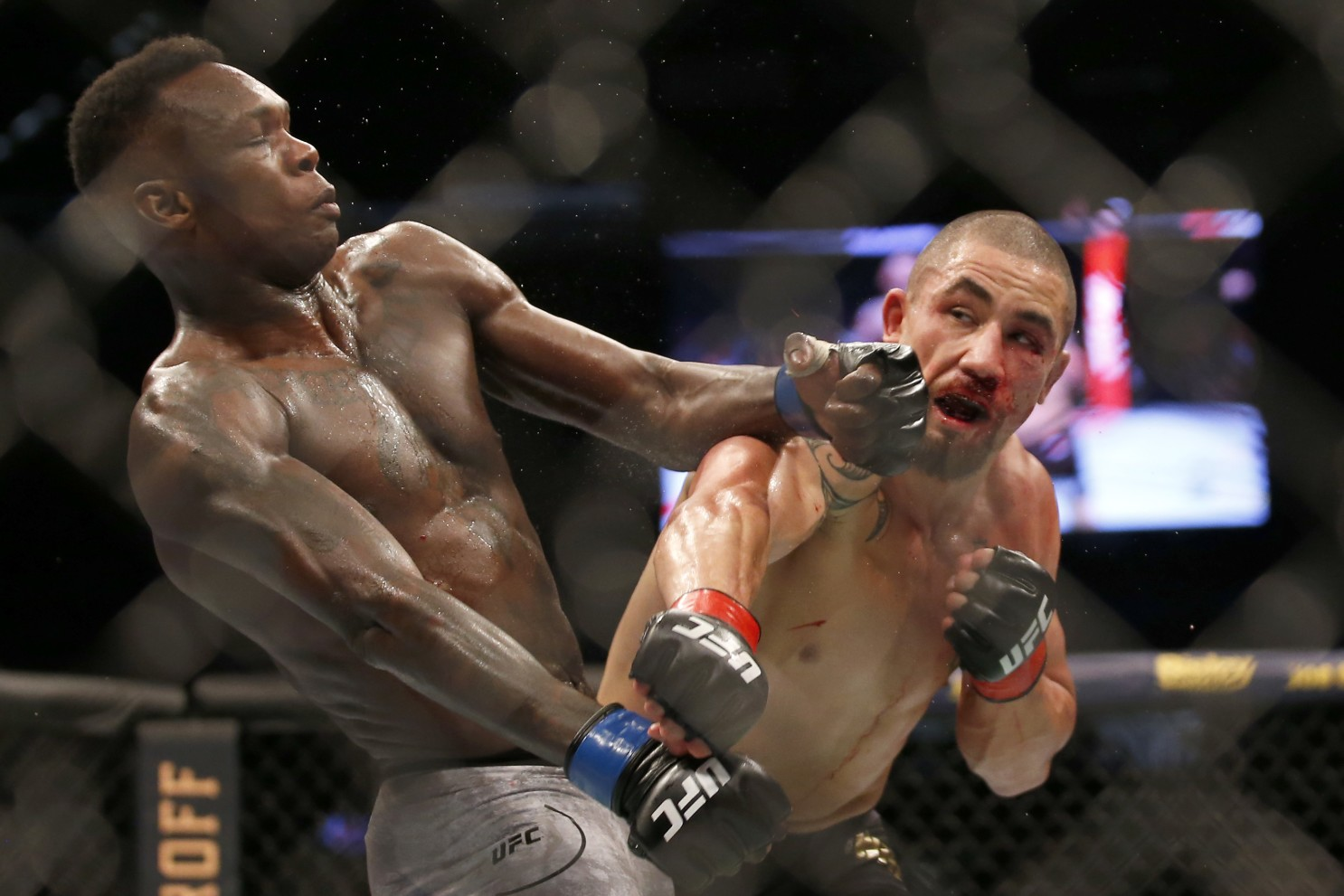 Robert Whittaker says the rematch with Israel Adesanya would be a hard fight - Whittaker
