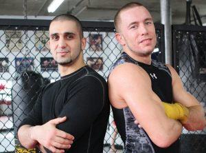 Khabib vs gsp, Conor McGregor and Firas Zahabi