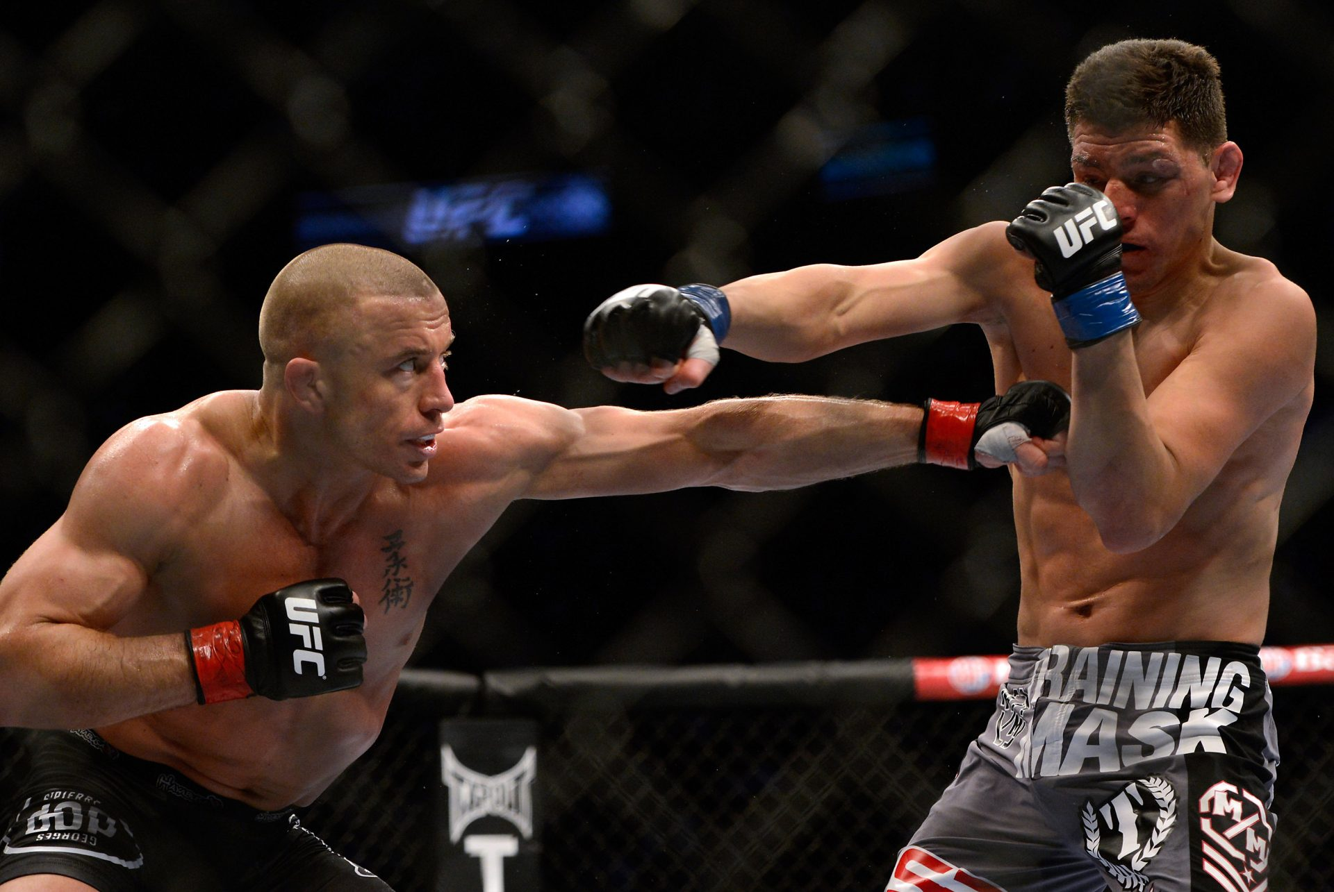Georges St-Pierre thinks Nick Diaz can still become a champion - Diaz