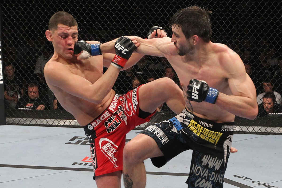 Carlos Condit gunning for a rematch with Nick Diaz - Carlos Condit