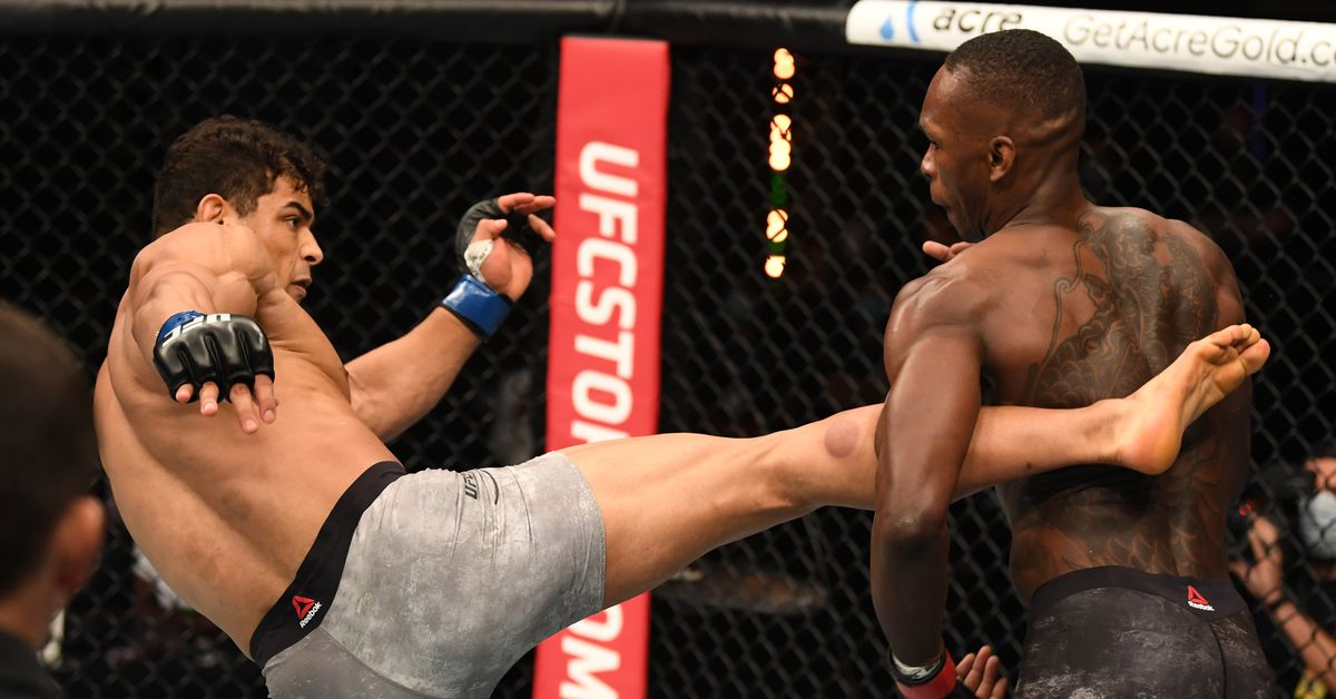 Paulo Costa says he fought Israel Adesanya with an 'impaired' leg - Paulo Costa