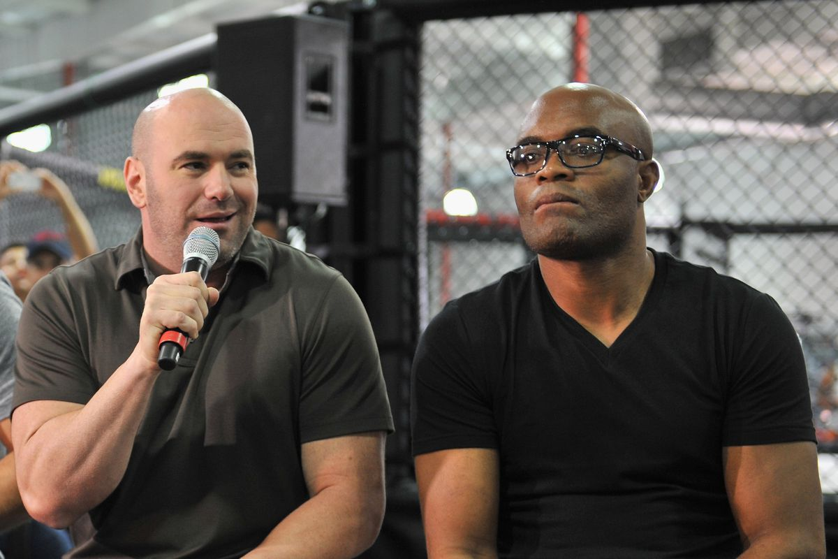 Dana White says he shouldn't have let Anderson Silva fight at UFC Vegas 12 - Anderson Silva