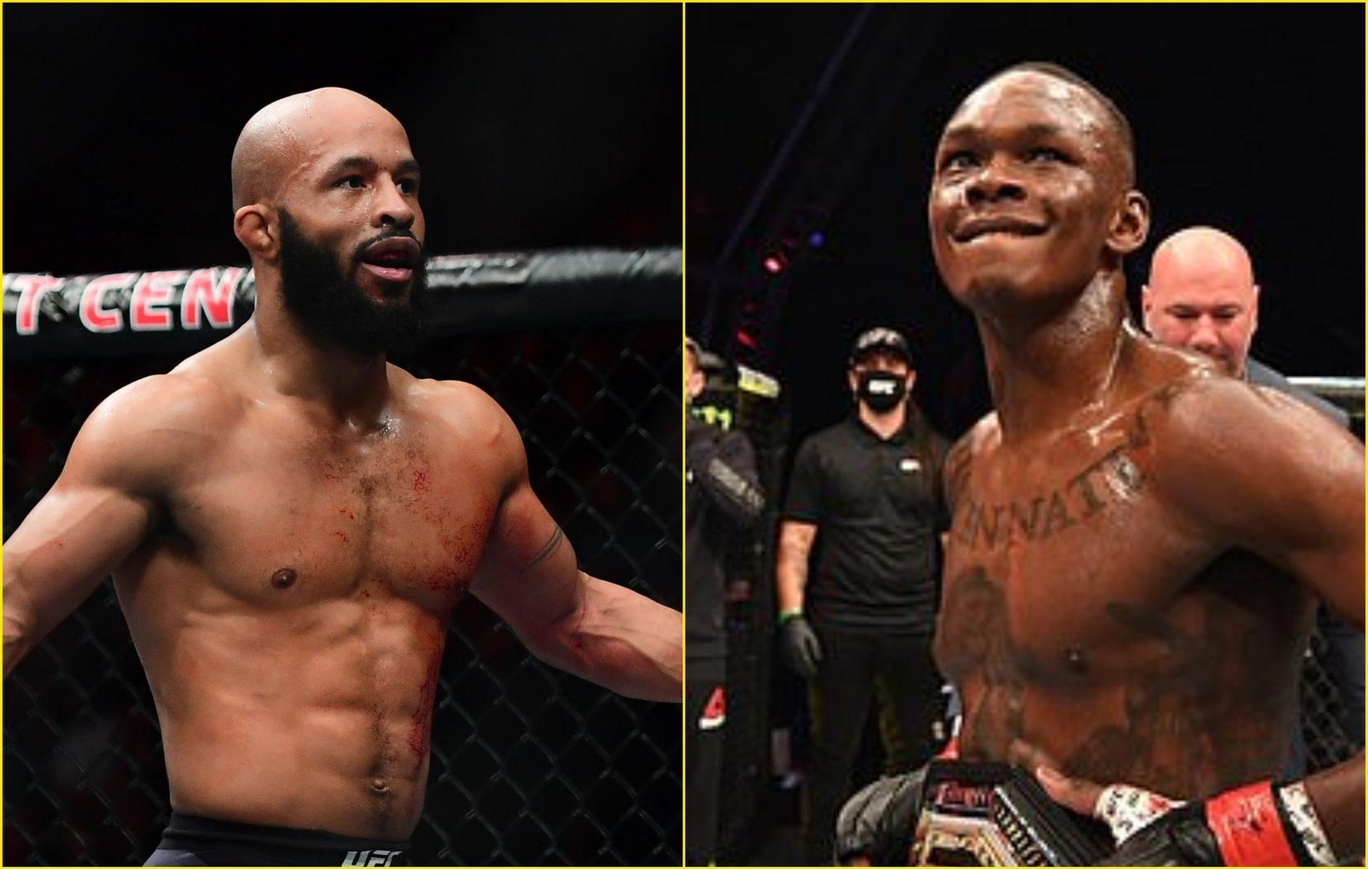 Israel Adesanya says Demetrious Johnson is the ultimate 'MMA GOAT' - Adesanya