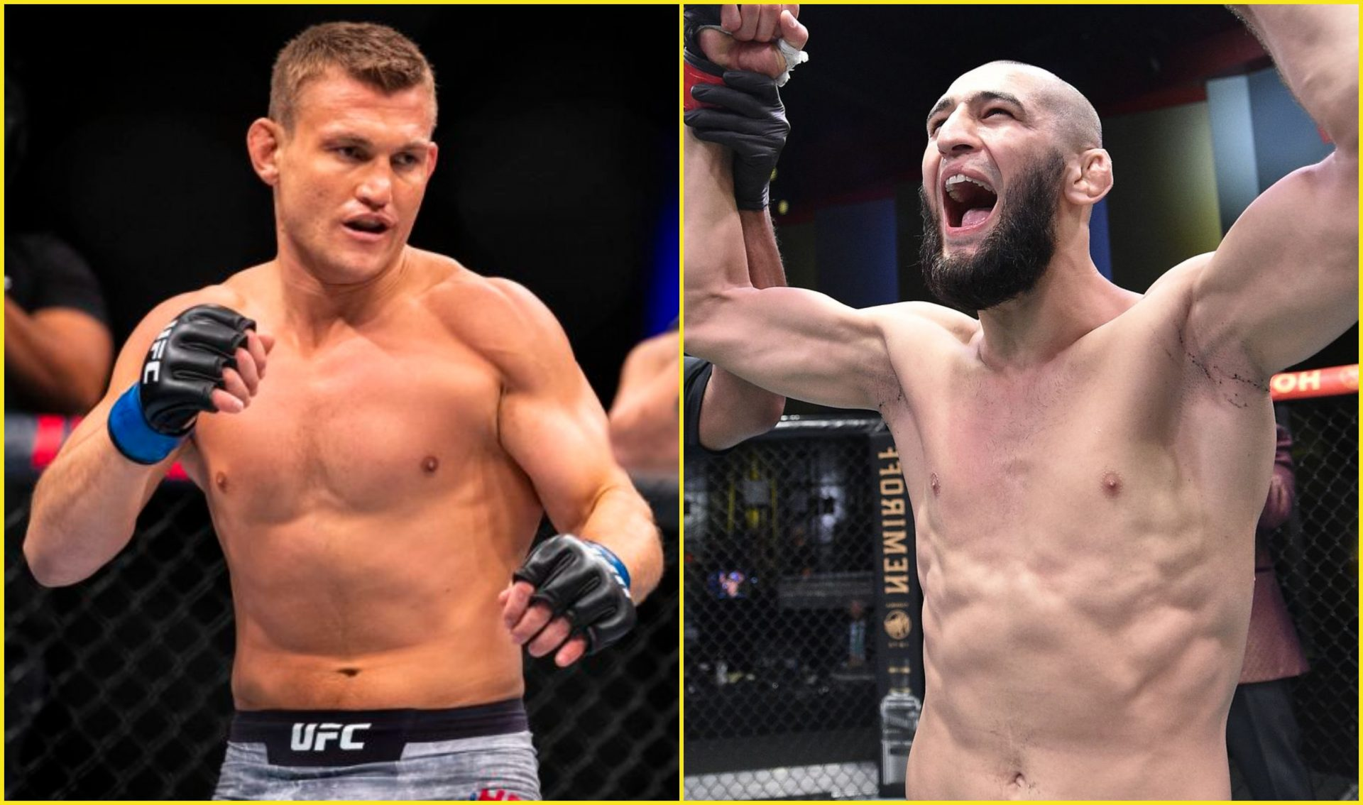 "Ian Heinisch interested in fighting Khamzat Chimaev: ""If he wants to test himself against a middleweight, I'm a top-15 guy"" - Khamzat Chimaev"