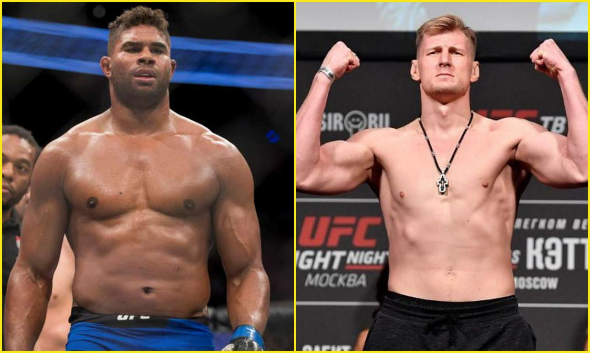 Alistair Overeem vs Alexander Volkov set for UFC event on Feb. 6 - Alistair Overeem