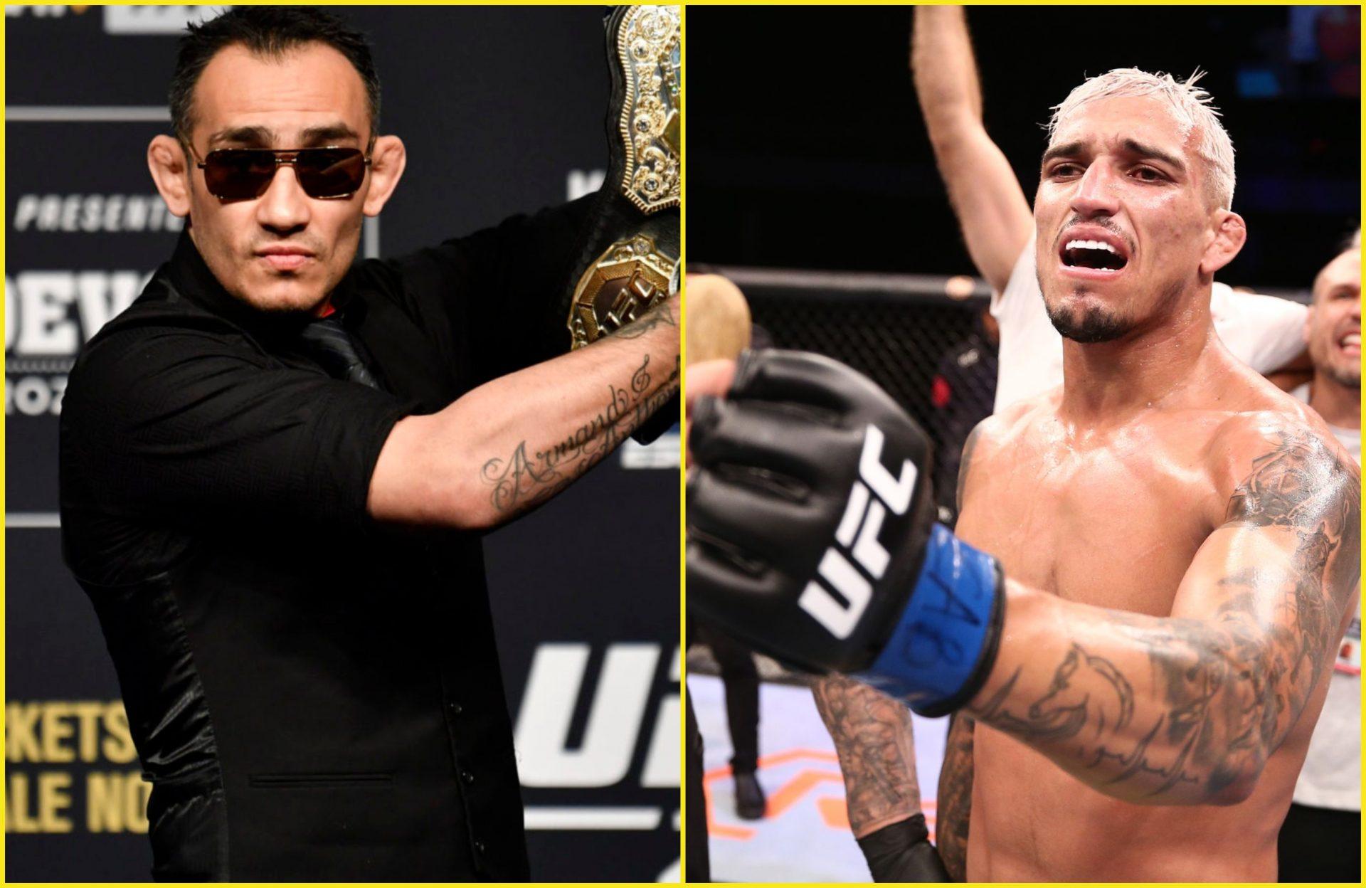 Tony Ferguson is set to fight Charles Oliveira at UFC 256 on Dec 12 - Ferguson