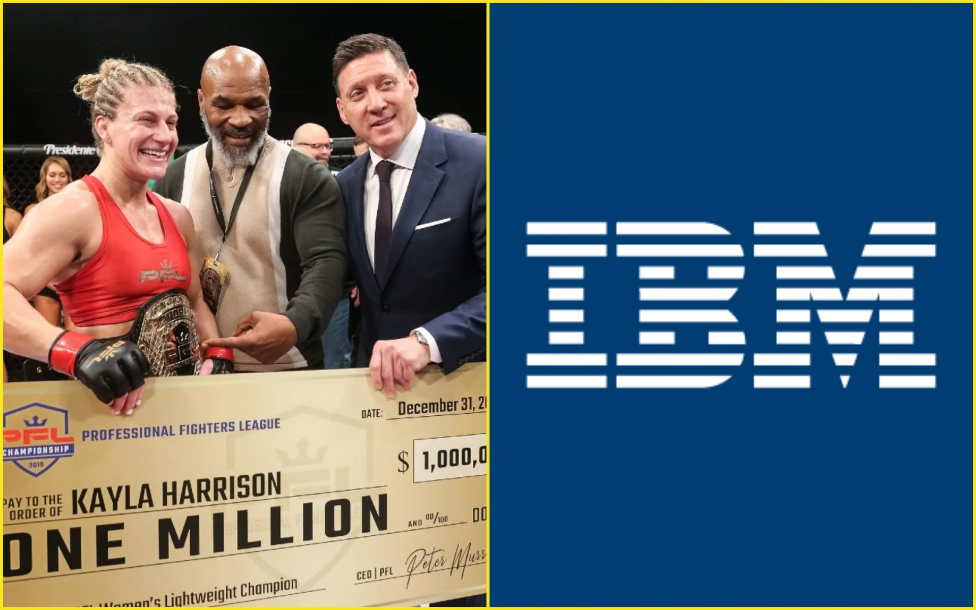 Professional Fighters League ropes in IBM to provide innovative technology - IBM