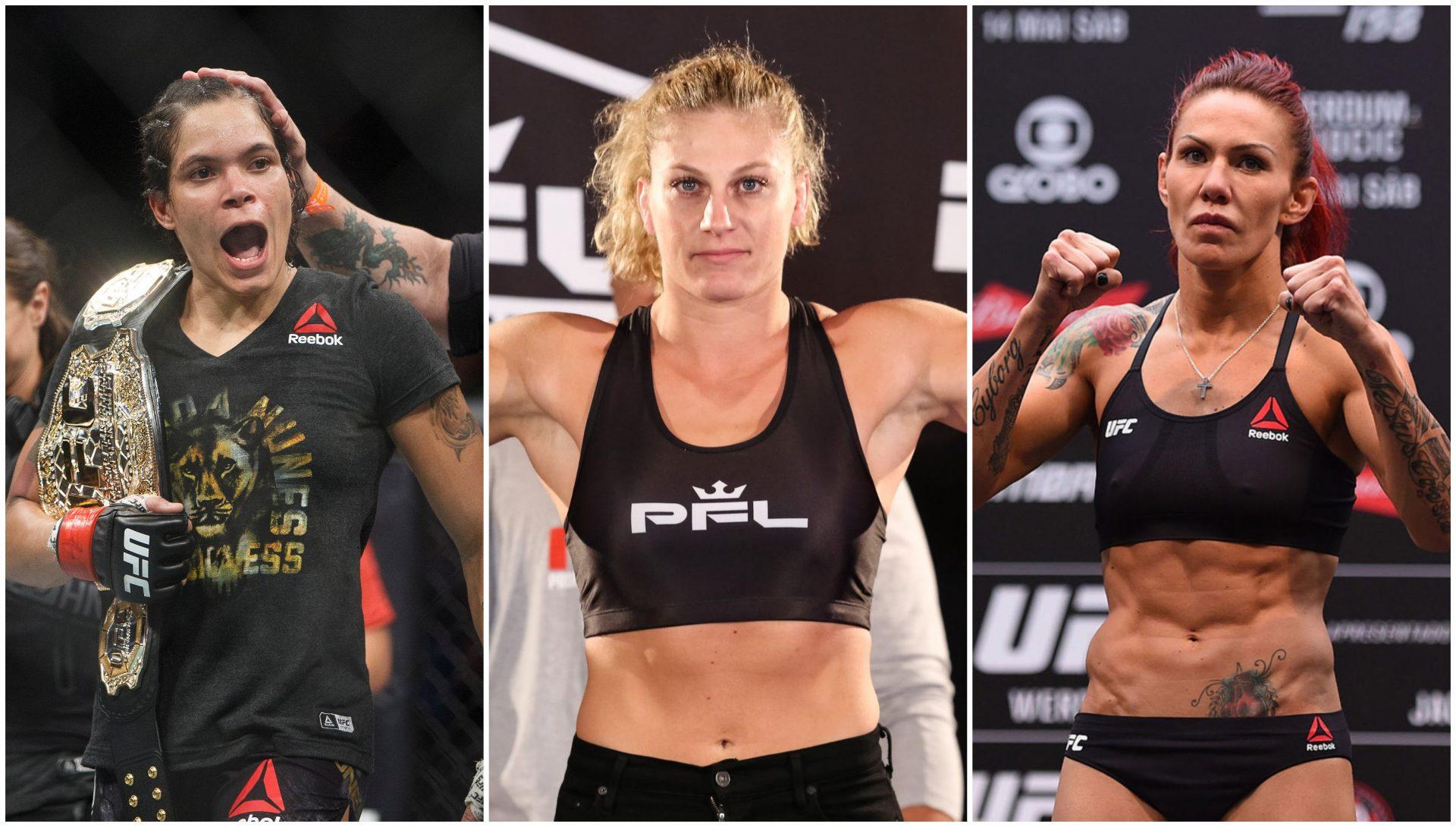 PFL Champion Kayla Harrison open to fighting Amanda Nunes and Chris Cyborg - Kayla Harrison