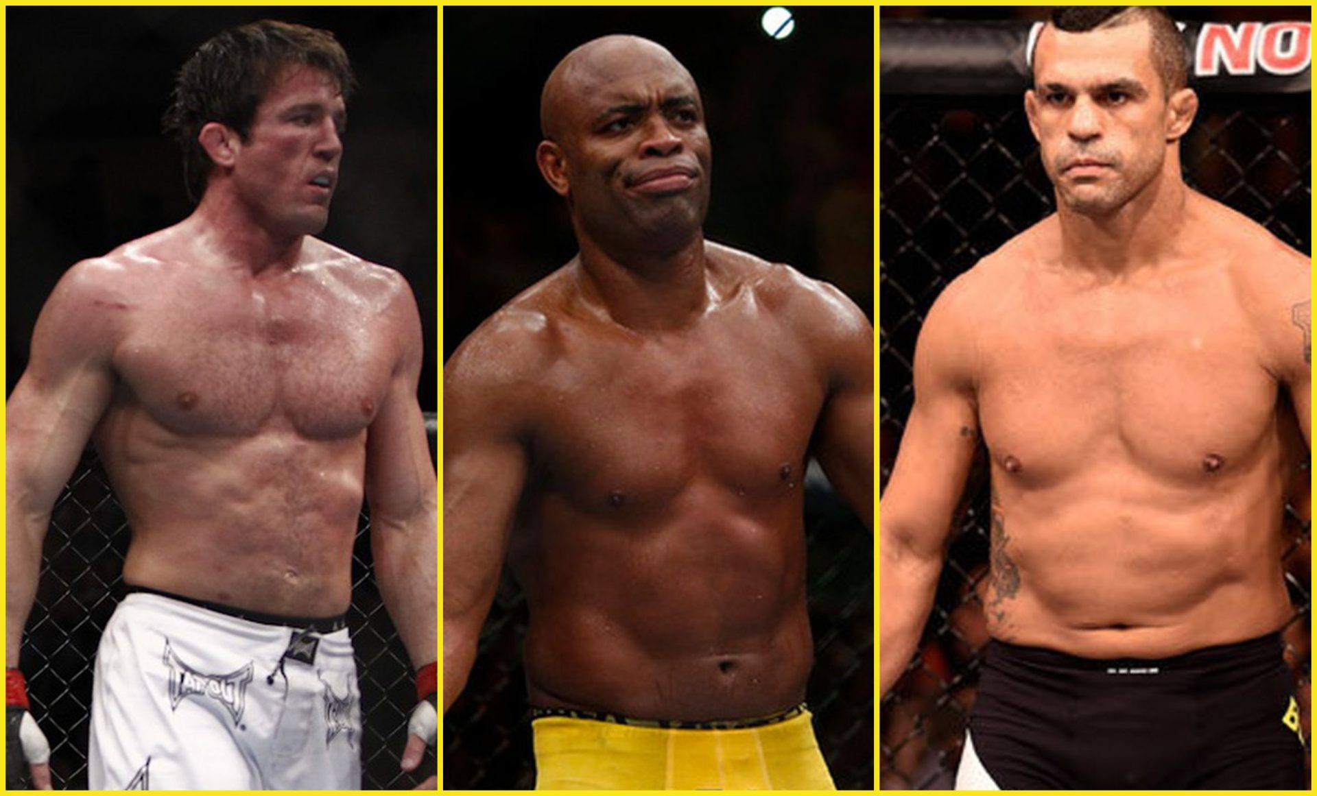 Vitor Belfort calls for a fight against Anderson Silva and Chael Sonnen - Vitor Belfort