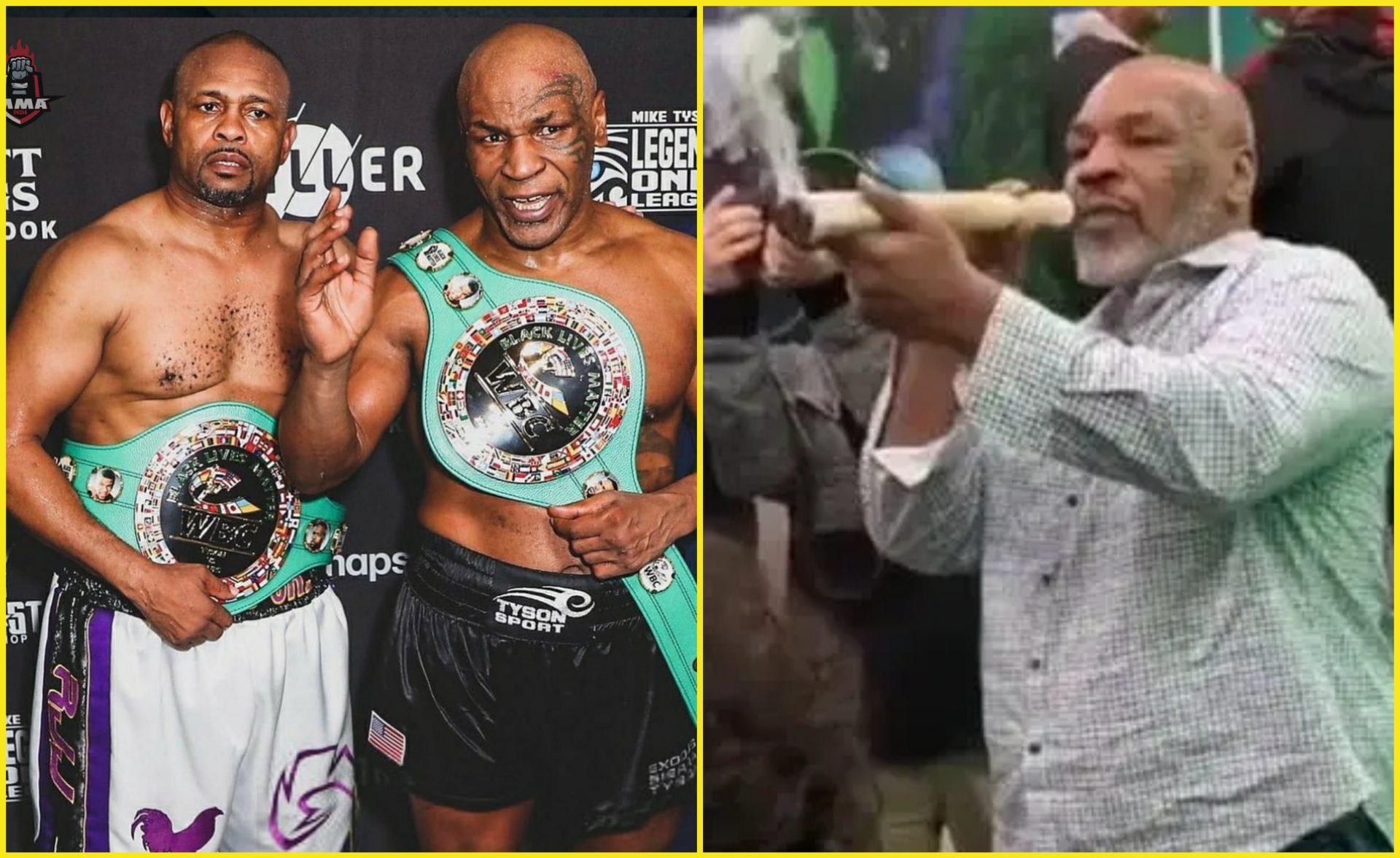Mike Tyson reveals he smoked Marijuana before Roy Jones Jr fight - Mike Tyson