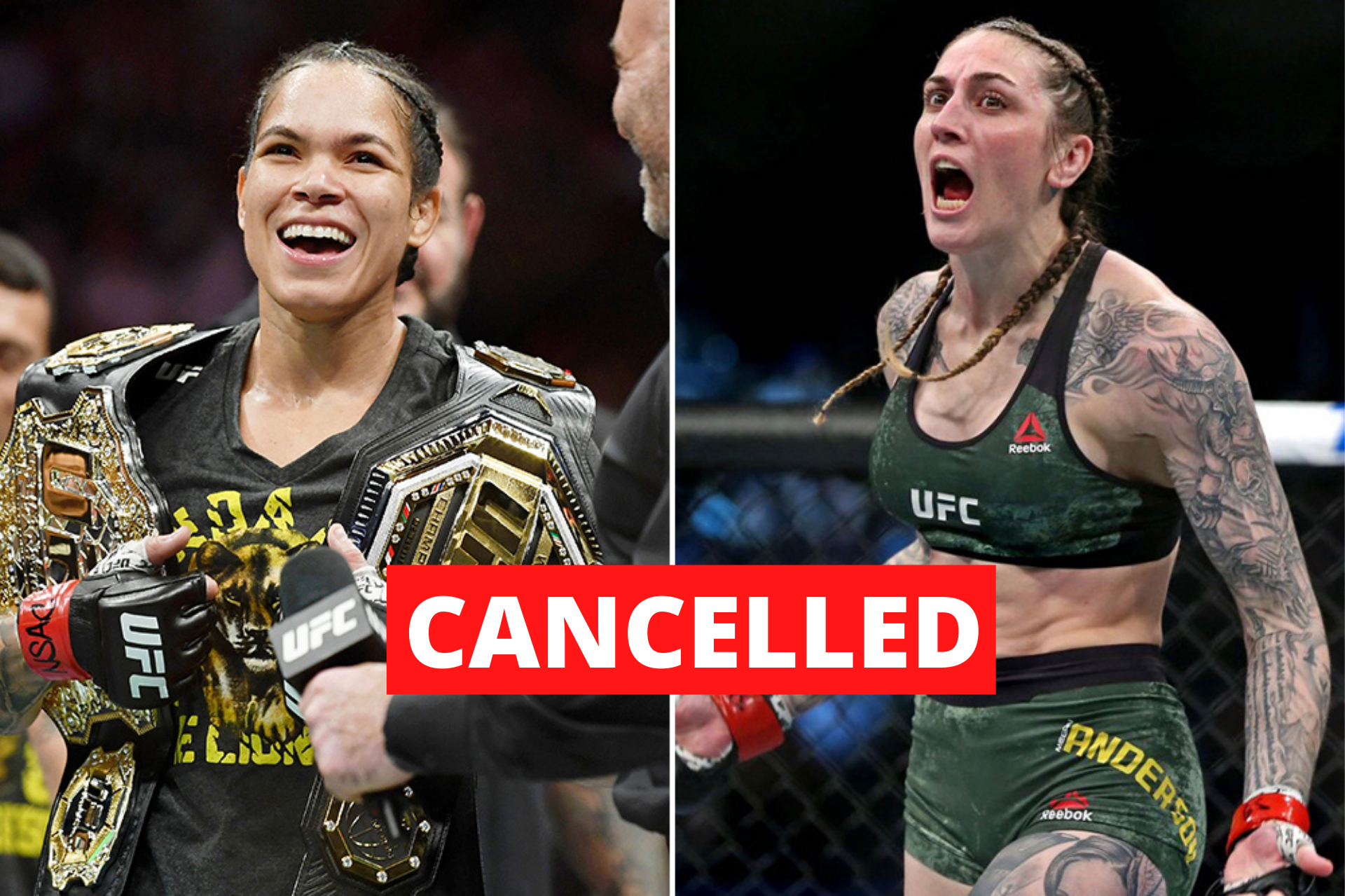 Amanda Nunes pulls out of her UFC 256 fight against Megan Anderson - Nunes