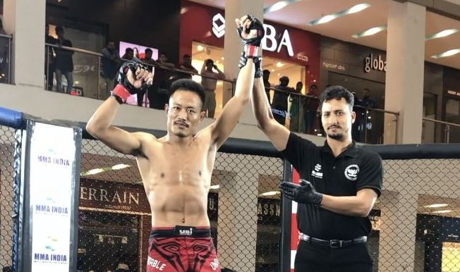 Nagaland's Longtsukumba Ao reveals how mental aspect is important in MMA - MMA